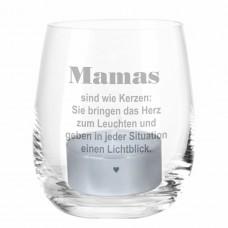 """Windlicht """"Mamas sind wie Kerzen"""""""