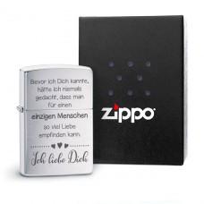 Original Zippo Benzinfeuerzeug: Bevor ich dich kannte