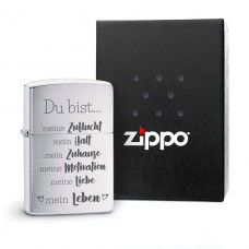Original Zippo Benzinfeuerzeug: Du bist